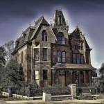 vacant Victorian house
