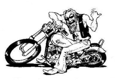 biker dude