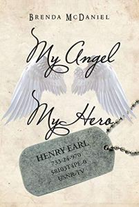 The cover of Brenda McDaniel's memoir, My Angel, My Hero